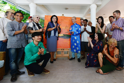 ททท. ประจวบฯ เปิดงาน THE FIRST HUA HIN INTERNATIONAL CONTEMPORARY ART RESIDENCY PROGRAM
